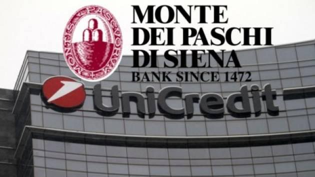 Tesoro pronto a presentare proposta Mps a UniCredit e Banco BPM
